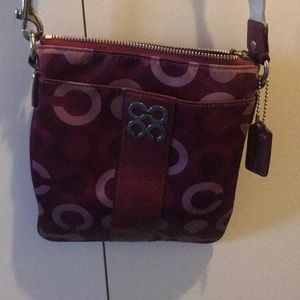 Barely used small Coach crossbody